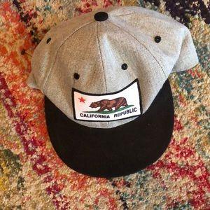 Snap back California republic hat!